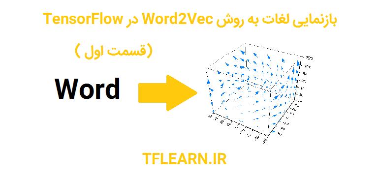 بازنمایی لغات به روش Word2Vec در TensorFlow(قسمت اول)